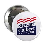 Stewart / Colbert 2008 Button