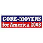 Gore-Moyers for America 2008 sticker