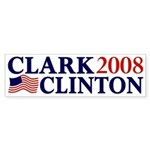 Clark-Clinton 2008 bumper sticker
