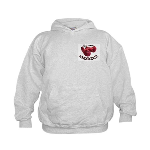 ...Knockout... Child Hoodie Sports Kids Hoodie by CafePress