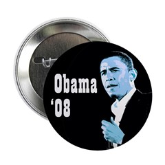 Barack Obama 08 Campaign Button