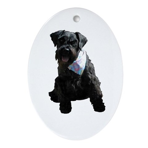 - Bandit Pets Oval Ornament by CafePress