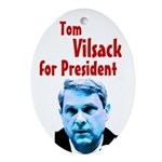 Tom Vilsack for President Tree Ornament
