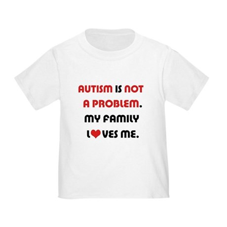 Autism - Not A Problem Infant/Toddler T-Shirt
