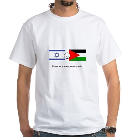 Product Image of Israel - Palestine Don't Let the Extremists Win T-