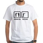 Skeet Shooting White T-Shirt