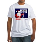 Santa Says Dump Bush T-shirt (USA)