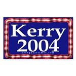 Kerry 2004 Sticker (Rectangular)