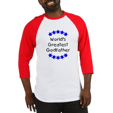 World's Greatest Godfather Godfather Baseball Jersey by CafePress