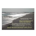 Footprints of God Postcards (Package of