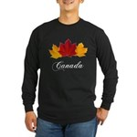 Canadian Maple Leaves Long Sleeve T-Shirt