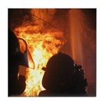 Fire Flashover Tile Coaster
