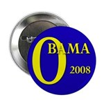 "Blue O: Obama 2008 2.25"" Button (10 pack)"