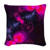 Flower Fairy Women's Woven Throw Pillow