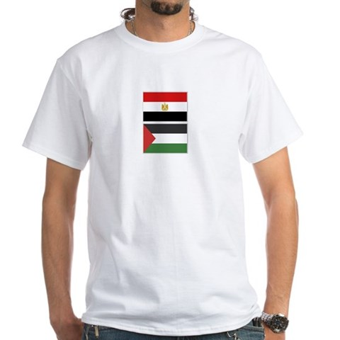 Product Image of Egypt & Palestine flags T-Shirt