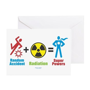 Super Powers Greeting Cards (Pk of 10) | Gifts For A Geek | Geek T-Shirts