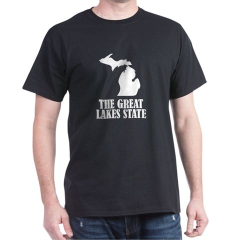 Product Image of Michigan The Great Lakes State T-Shirt