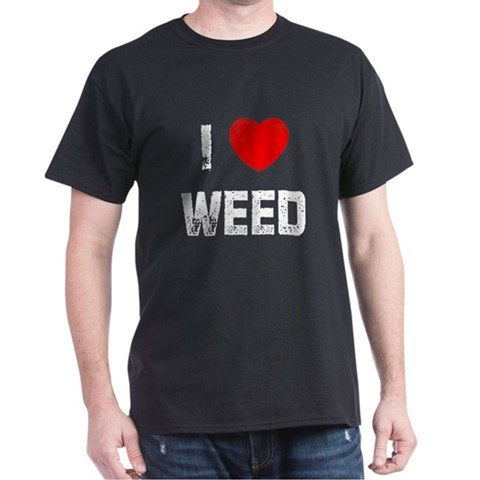 Product Image of I * Weed Dark T-Shirt