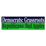 Republicans: Bad Apples Sticker (Bumper)