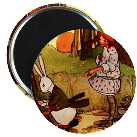 Attwell 1  Vintage 2.25 Magnet 100 pack by CafePress