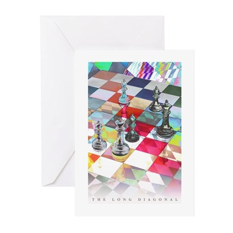 - Long Dia Music Greeting Cards Pk of 10 by CafePress