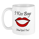 I Kiss Boys (and girls too) Mug