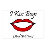 I Kiss Boys (and girls too) Postcards (Package of