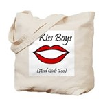 I Kiss Boys (and girls too) Tote Bag