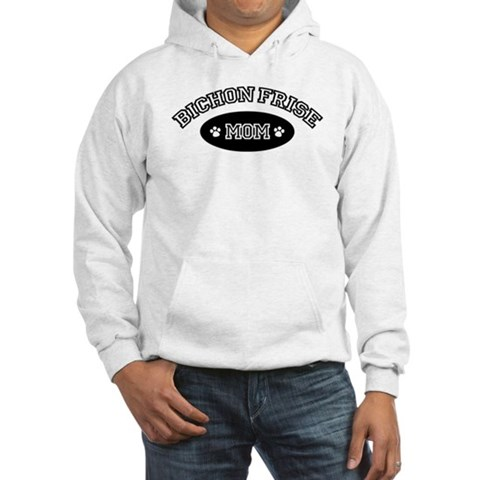 Bichon Frise Mom Pets Hooded Sweatshirt by CafePress