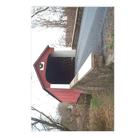 - Van Sant Covered Bridge Photography Postcards Package of 8 by CafePress