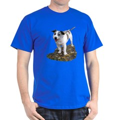 terrier dog on t-shirt