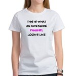 awesome fangirl Women's T-Shirt