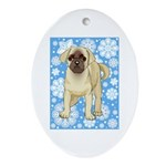 Pug Holiday Ornament