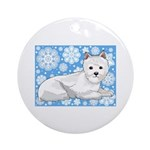 Westie Holiday Ornament