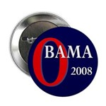 "Obama 2008 2.25"" Button (10 pack)"