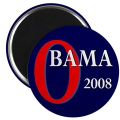 Obama 2008 2.25 Magnet (100 pack)