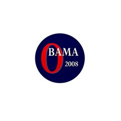 Obama 2008 Mini Button (10 pack)
