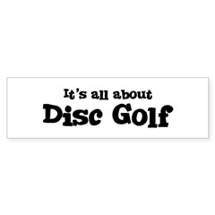 All about Disc Golf Sticker (Bumper)