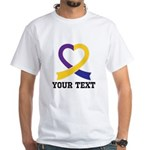 Thyroid Cancer Awareness Personalized T-Shirt