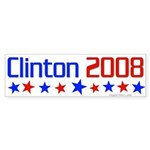Clinton 2008 bumper sticker