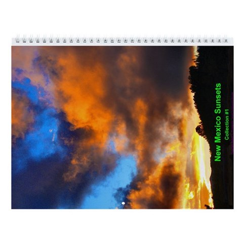 - NM Sunsets collection 1 Horse Wall Calendar by CafePress