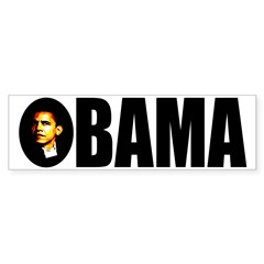 Barack Obama Icon Bumper Sticker