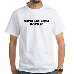 North Las Vegas Rocks! Premium White T-Shirt