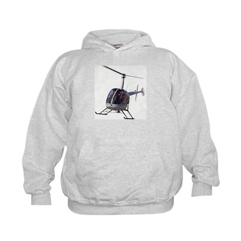 Helicopter Cool Boys Girls Gifts Art Kids Hoodie by CafePress