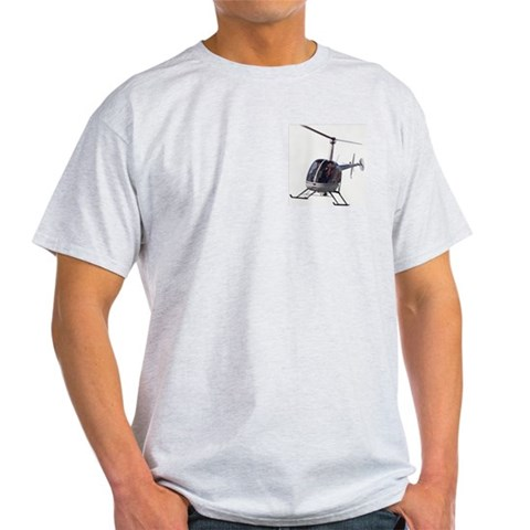 Helicopter T-Shirt Cool Chopper T-shirts amp; Gif Art Light T-Shirt by CafePress