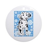 Dalmatian Holiday Ornament