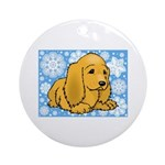 Cocker Spaniel Holiday Ornament