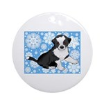 Border Collie Holiday Ornament
