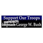 Support Our Troops Imprison Bush