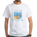 HAPPY PASSOVER CARD 1 White T-Shirt